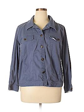 Denim Co Jacket Size 1X (Plus)