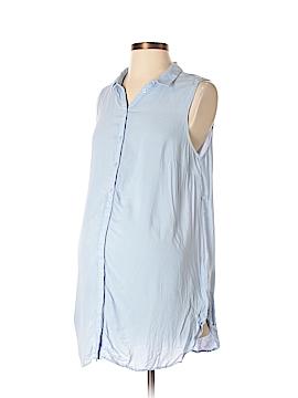 H&M Mama Sleeveless Button-Down Shirt Size S (Maternity)