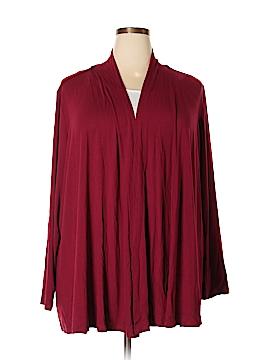 Karen Scott Cardigan Size 2X (Plus)
