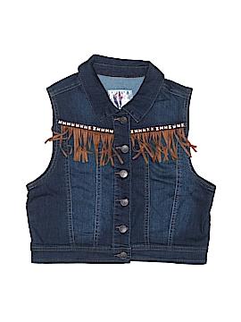 Justice Denim Vest Size 16 - 18