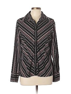 Fred David Long Sleeve Button-Down Shirt Size L