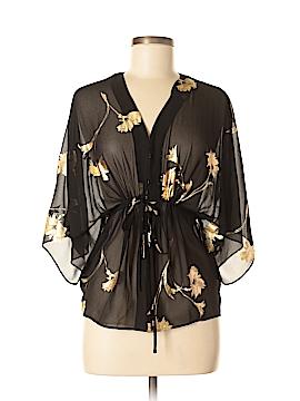 Moda International 3/4 Sleeve Blouse Size XS