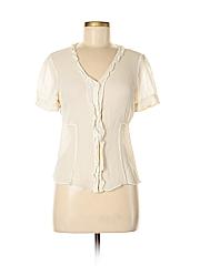 Ann Taylor Factory Women 3/4 Sleeve Blouse Size 10
