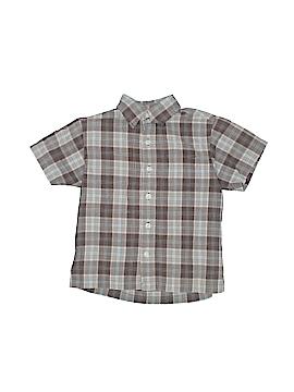 Arizona Jean Company Short Sleeve Button-Down Shirt Size M (Kids)