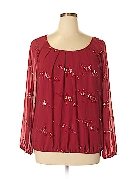 Valerie Stevens Long Sleeve Blouse Size L