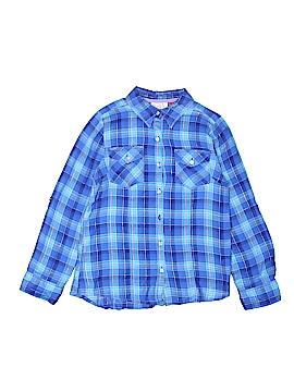 SO Long Sleeve Button-Down Shirt Size 16