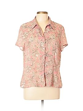 Rena Rowan Short Sleeve Blouse Size 14