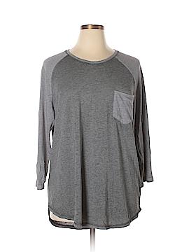Danskin Now 3/4 Sleeve T-Shirt Size XS