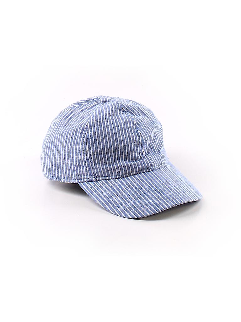 7f90abe59bf J. Crew Stripes Blue Baseball Cap One Size - 92% off