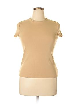 Jones New York Signature Short Sleeve T-Shirt Size L