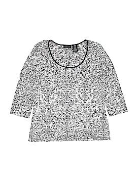 Apostrophe 3/4 Sleeve T-Shirt Size M