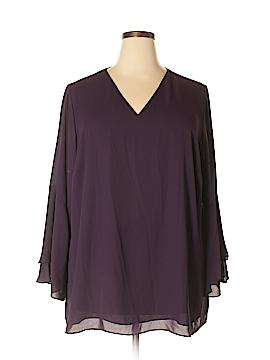 Alfani 3/4 Sleeve Blouse Size 22 (Plus)