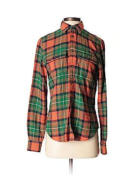 Ralph Lauren Rugby Long Sleeve Button-Down Shirt Size 4