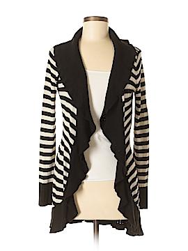 White House Black Market Silk Cardigan Size M