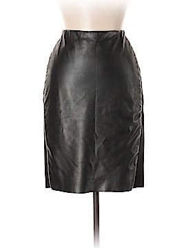 Linea Domani Faux Leather Skirt Size M