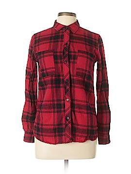 Empyre 3/4 Sleeve Button-Down Shirt Size M