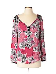 Mink Pink Women 3/4 Sleeve Blouse Size S