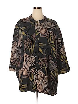 Maggie Barnes 3/4 Sleeve Blouse Size 5X (Plus)