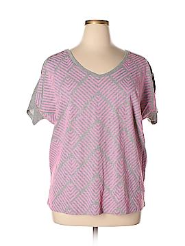 Lane Bryant Short Sleeve T-Shirt Size 14 - 16 Plus (Plus)