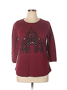 Lucky Brand 3/4 Sleeve T-Shirt Size XL