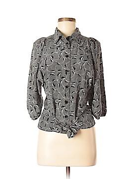 Maple 3/4 Sleeve Silk Top Size 6
