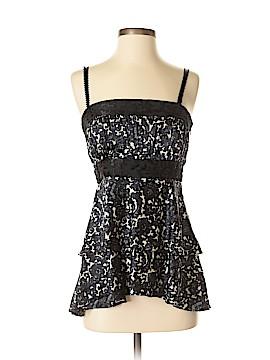 Milly Sleeveless Silk Top Size 4