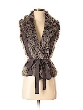 XOXO Faux Fur Vest Size M