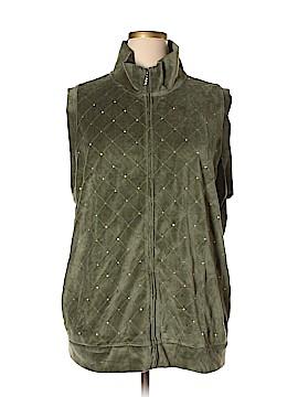 Quacker Factory Vest Size 3X (Plus)