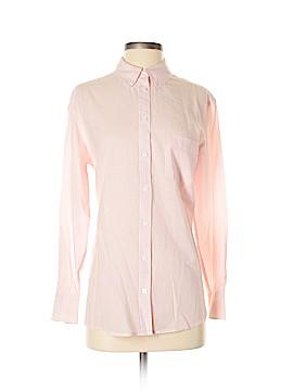 Equipment Long Sleeve Button-Down Shirt Size S
