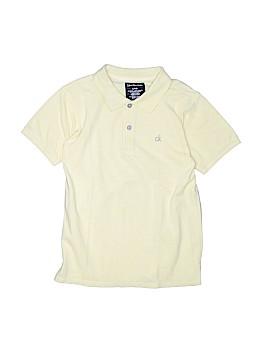 CALVIN KLEIN JEANS Short Sleeve Polo Size 8