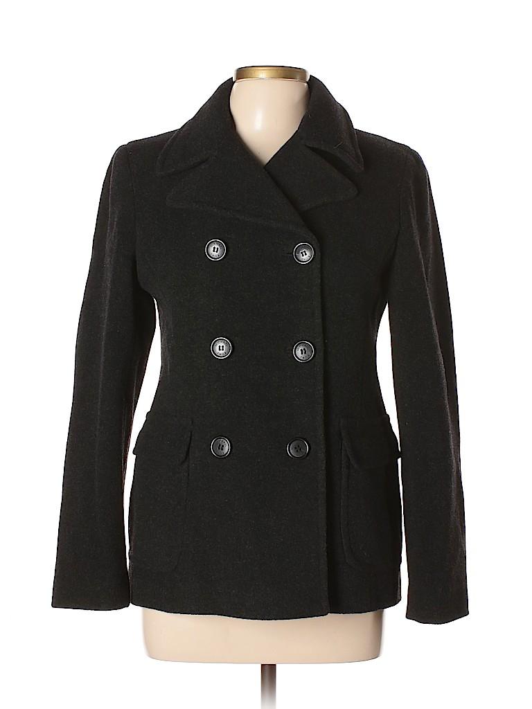 MICHAEL Michael Kors Women Wool Coat Size 6