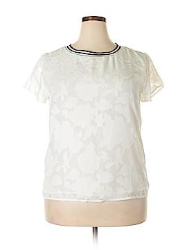 Adiva Short Sleeve Blouse Size XL