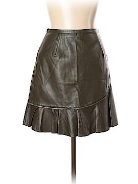 Sachin + Babi Leather Skirt Size 6