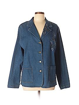 Susan Graver Denim Jacket Size L