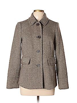 Banana Republic Women Wool Coat Size M