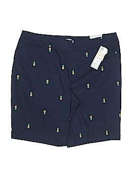 Charter Club Khaki Shorts Size 16 (Plus)