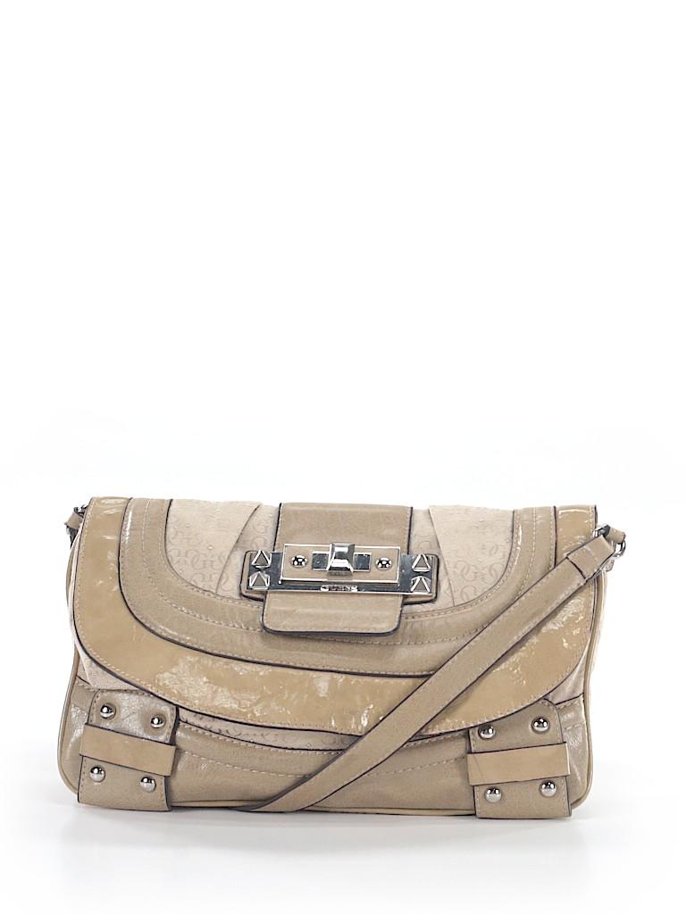 932b59eaf9e Guess Solid Beige Crossbody Bag One Size - 65% off   thredUP