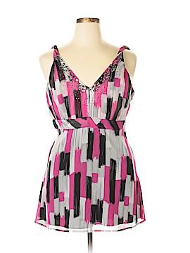 DKNYC Sleeveless Blouse Size 12