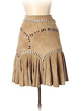Roberto Cavalli Leather Skirt Size S