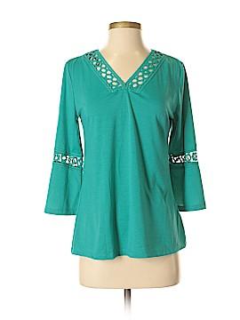 Carolyn Taylor 3/4 Sleeve Top Size S