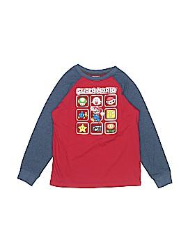 Super Mario Long Sleeve T-Shirt Size 8