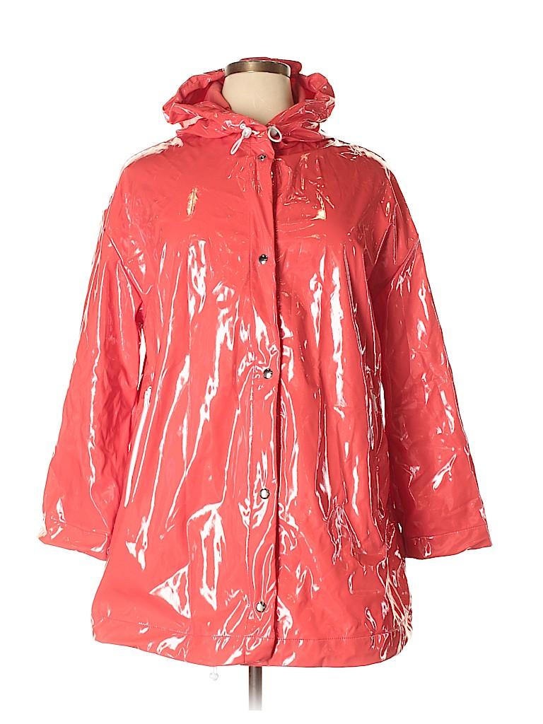 5c2b448032363f Gap 100% Nylon Solid Red Raincoat Size XL - 70% off