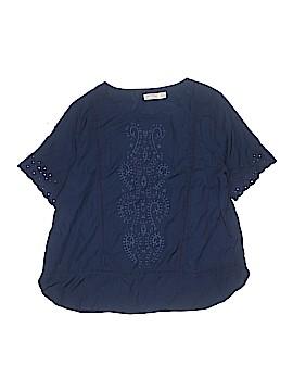 Faded Glory Short Sleeve Blouse Size XXL