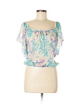 Yumi Kim Short Sleeve Blouse Size M
