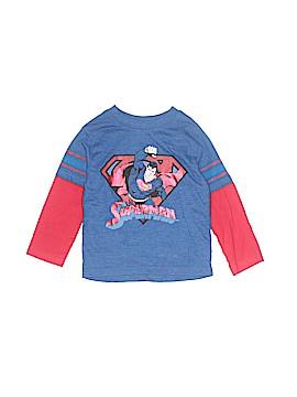 Superman Long Sleeve T-Shirt Size 18 mo