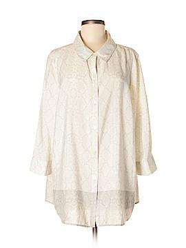Isaac Mizrahi 3/4 Sleeve Blouse Size XL