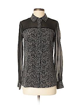 Rachel Zoe Long Sleeve Button-Down Shirt Size 2