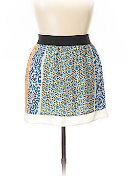 Glam Silk Skirt Size L