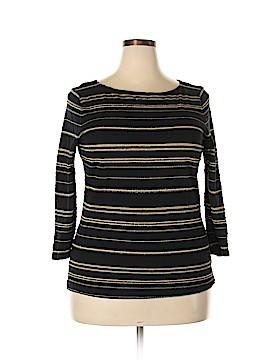 Lauren Jeans Co. 3/4 Sleeve T-Shirt Size XL