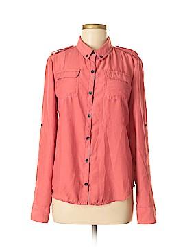 DKNY Jeans Long Sleeve Blouse Size M